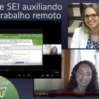 Videoconferência - RH e SEI auxiliando no trabalho remoto