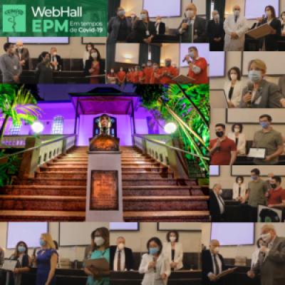 Sentimento de gratidão e orgulho marcam cerimônia de abertura do WebHall EPM