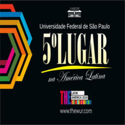 Unifesp é a 5ª melhor universidade da América Latina