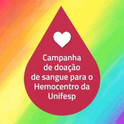 Hemocentro (HSP/HU Unifesp) precisa de doações de sangue