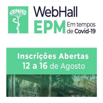 EPM promove congresso para discutir alternativas ao enfrentamento da pandemia