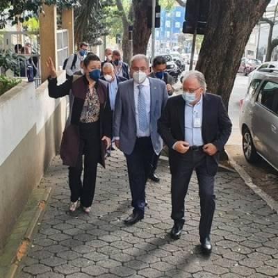 Ministro da Saúde visita Campus São Paulo da Unifesp