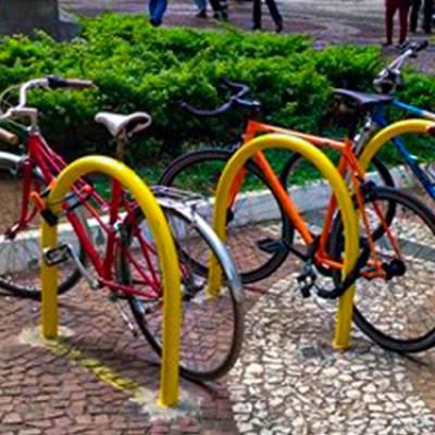 Doação de paraciclos para o Campus São Paulo da Unifesp