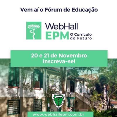 WebHall EPM – O Currículo do Futuro– 20 e 21 de Novembro