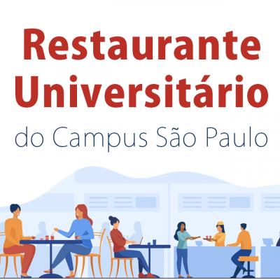 Ao usuários do Restaurante Universitário