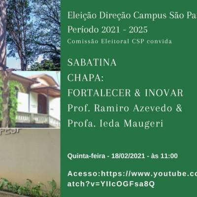 Sabatina - Eleição Direção Campus São Paulo