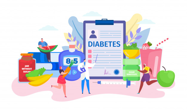 conceito de diabetes