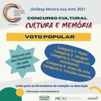 Votação popular: Unifesp Mostra Sua Arte 2021